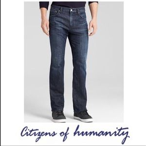 Citizens of Humanity Jagger Raw Hem Boot Cut Jeans